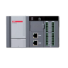 XEC-DR28U XGBU IEC PLC, 100 240Vac Power 16 NPN DI, 12 Relay Output RS485, RS232 Ports, Mini USB 2 Ethernet Ports, SD Slot
